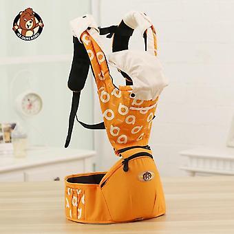Ventilerande ergonomisk bärseleryggsäck, bärbar spädbarn känguru höftsäte