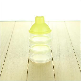 3-4-5 Cell Baby Infant Élelmiszer Tej adagoló por adagoló tartály alkalmas