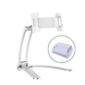 Wall, Desk,  Kitchen Tablet Mount Stand  Metal Bracket Smartphones Holders