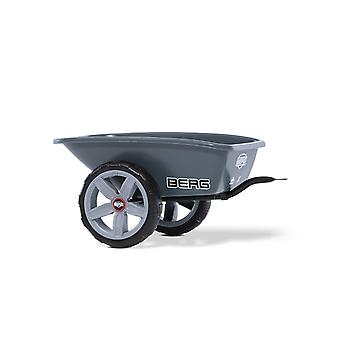 BERG grey trailer m with towbar for berg reppy