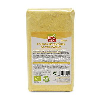 Wholemeal corn flour for instant polenta None