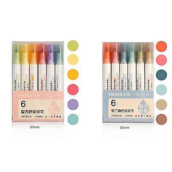 Morandi Fluorescerende pen, schattige creativiteit, highlighter voor Journal
