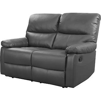 """Sofá reclinable 2 plazas """" Lincoln"""" - Topo"""