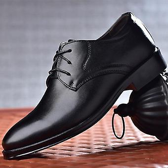 New Men Dress Shoes de înaltă calitate din piele formală Oxford Fashion Office