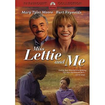 Miss Lettie & Me [DVD] USA import