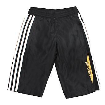 Adidas Predator Boys Track Pants 3/4 Cropped Joggers Black F50532