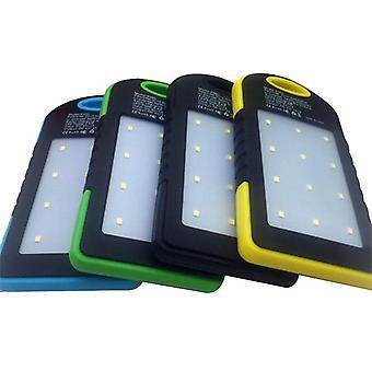 Banco de energia móvel solar aninhando caixa de energia móvel portátil