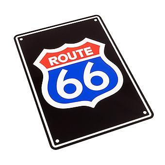 Bike It Aluminium Parkeerbord - Route 66