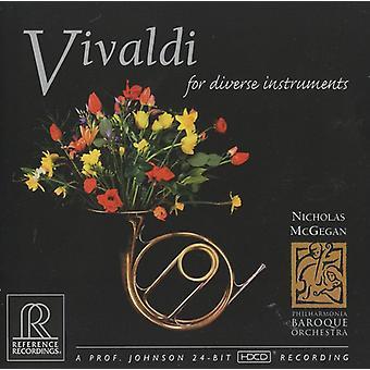 A. Vivaldi - Vivaldi for Diverse Instruments [CD] USA import