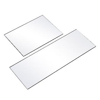 3mm Thickness Clear Acrylic Mirror Sheet