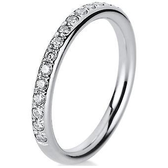 Luna Creation Promessa Ring Memoire Half 1B816W452-1 - Ringbreedte: 52