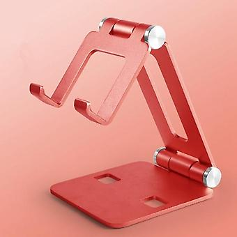 Porta tablet in lega di alluminio girevole per ipad/cellulare