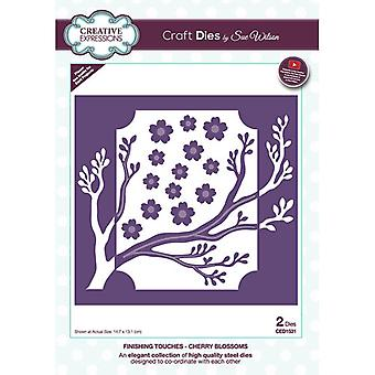 Creative Expressions Finishing Touches Collection Cutting Dies - Cherry Blossoms
