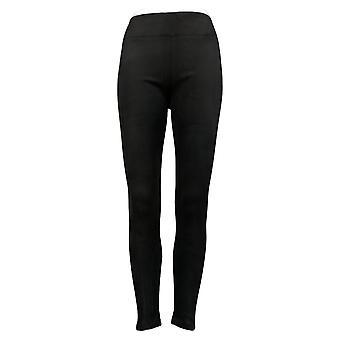 Cuddl Duds Fleecewear Stretch Leggings Pantalon Noir A342094