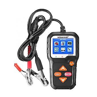 Autós akkumulátor teszter 12v automatikus terhelés forgattyús rendszer és töltés scan eszköz