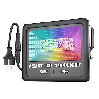 100-240V 50w bt connected connection leds flood light ip66 water resistance spot lamp
