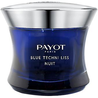Payot Paris Blue Techni Liss Nuit regenererer Balm 50 ml