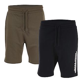 Jack Jones Harry 2 Pack Jog Shorts uomo in blu