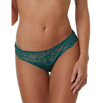 Efter Eden Moon 10.35.6117-172 Women's Dark Green Lace Thong
