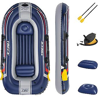 Hydro Force Raft Trek X2 Inflatable Rubber Boat Set