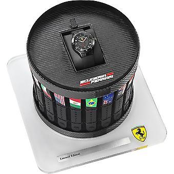 Ferrari Scuderia Grand Prix Pit Crew Limited Edition Herren Uhr 0830134