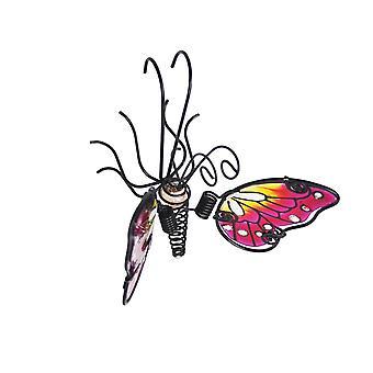 Primus vaaleanpunainen lasi siipi häntä kevät perhonen potin ripustin Pa4009pi