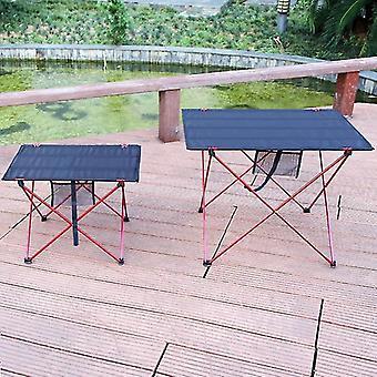 Bærbart udendørs klapbord, sammenklappelige campingmøbler, aluminiumslegering,