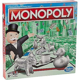 HanFei Monopoly Classic, klassisches Brettspiel fr die ganze Familie fr 2 bis 6 Spieler, fr Kinder ab