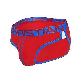 Andrew Christian Show-It Retro Pop Letter | Men's Underwear | Men's Slip