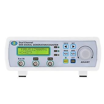 Digital DDS Dual Channel Signal Source Generator Arbitrary Waveform Frequency Meter Counter 200MSa/s 25MHz