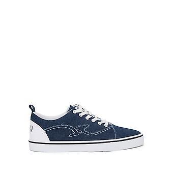 Trussardi -BRANDS - Sko - Sneakers - 77A00133-W656-DarkDenim - Mænd - navy,white - EU 41
