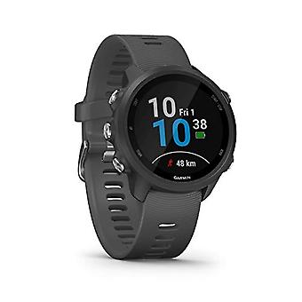 Garmin Forerunner 245, Multisport Smart GPS Watch, Black/Grey