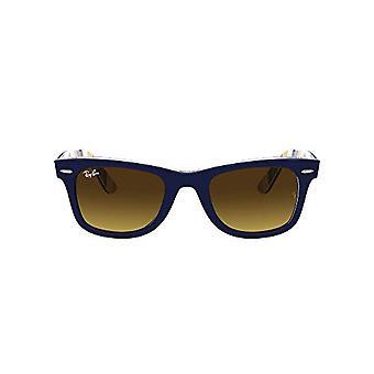 Ray-Ban Rb2140 Wayfarer lasit, sininen oranssi / sininen raidat, 54 Unisex-aikuinen