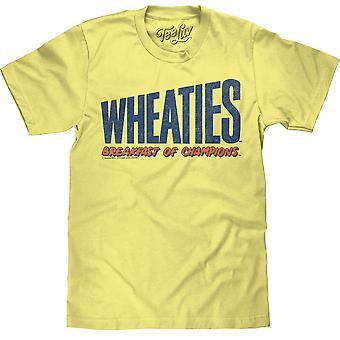 Wheaties Breakfast of Champions Text T-Shirt