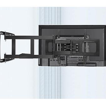 32-80 inç Tv Tam Hareketli Tv Çerçevesi Döner Mafsallı tv için Tv Duvar Montaj Braketi