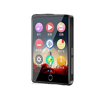 M7 Metal Mp3 Player Bluetooth 5.0 Built-in Speaker 2.8 Inch Large Touch Screen