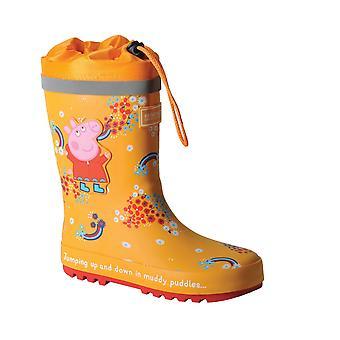 Peppa Gris Barn / Barn Splash Floral Wellington Støvler