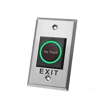 Pitkä metalli ei kosketa kontaktitonta infrapunaoven uloskäyntipainiketta