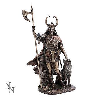 Loki-Norse Trickster God Figurine