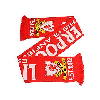 Liverpool Dies ist Anfield Jacquard Stricken Schal