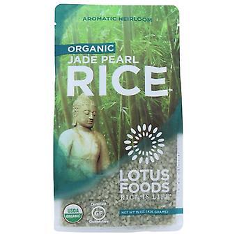 Lotus Foods Rice Jade Pearl Org Gf, Case of 6 X 15 Oz