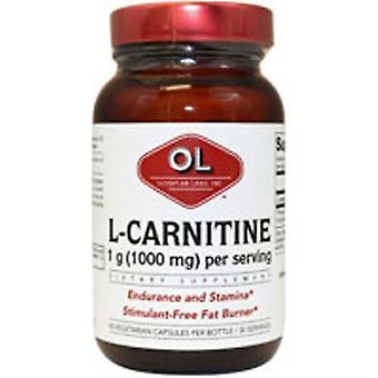 Olympian Labs L-Carnitine, 500mg, 60 Caps