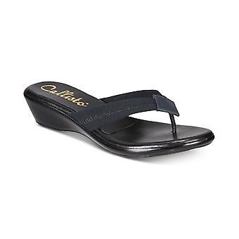Callisto Womens Yazmine Thong Wedge Sandals
