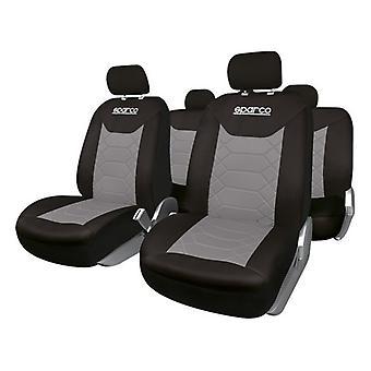 Car Seat Covers Sparco BK Universal (11 PCS)