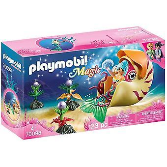 Playmobil 70098 Magisk havfrue med snegle Gondola