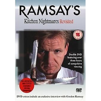 Ramsays Kitchen Nightmares Revisited DVD (2006) Gordon Ramsay cert 15 Regio 2
