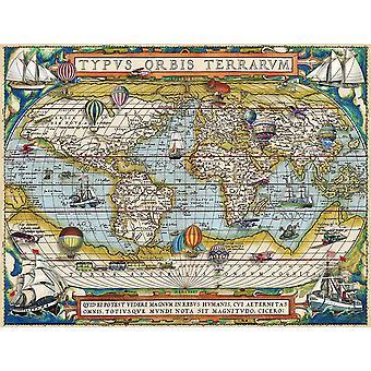 Ravensburger Around the World Puzzle (2000 pezzi)