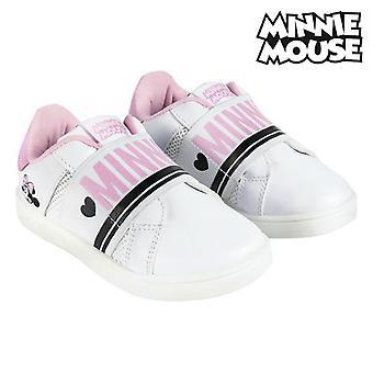 أحذية رياضية للأطفال ميني ماوس الأبيض