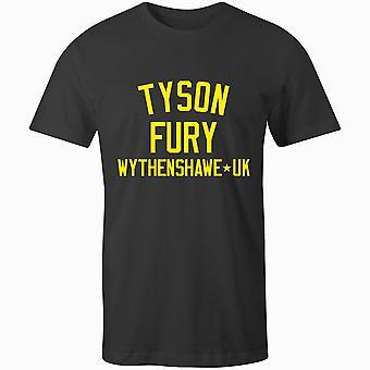 T-shirt tyson fury boxing legend
