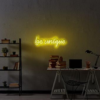 Be Unique - Gelbe gelbe Wandleuchte